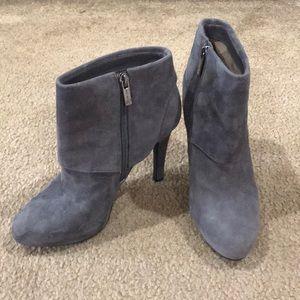 Jessica Simpson gray booties